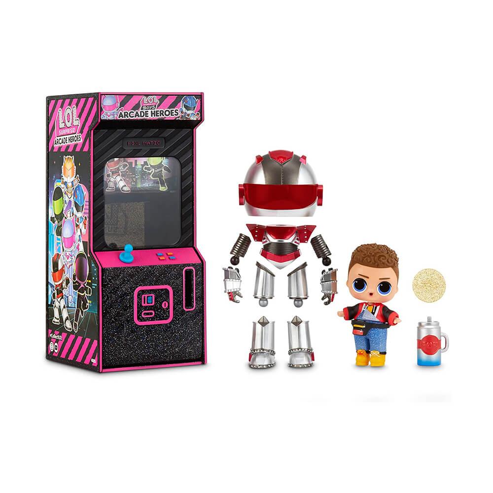 Кукла LOL Surprise BOYS ARCADE HEROES - Куклы ЛОЛ Мальчики Аркадные Герои